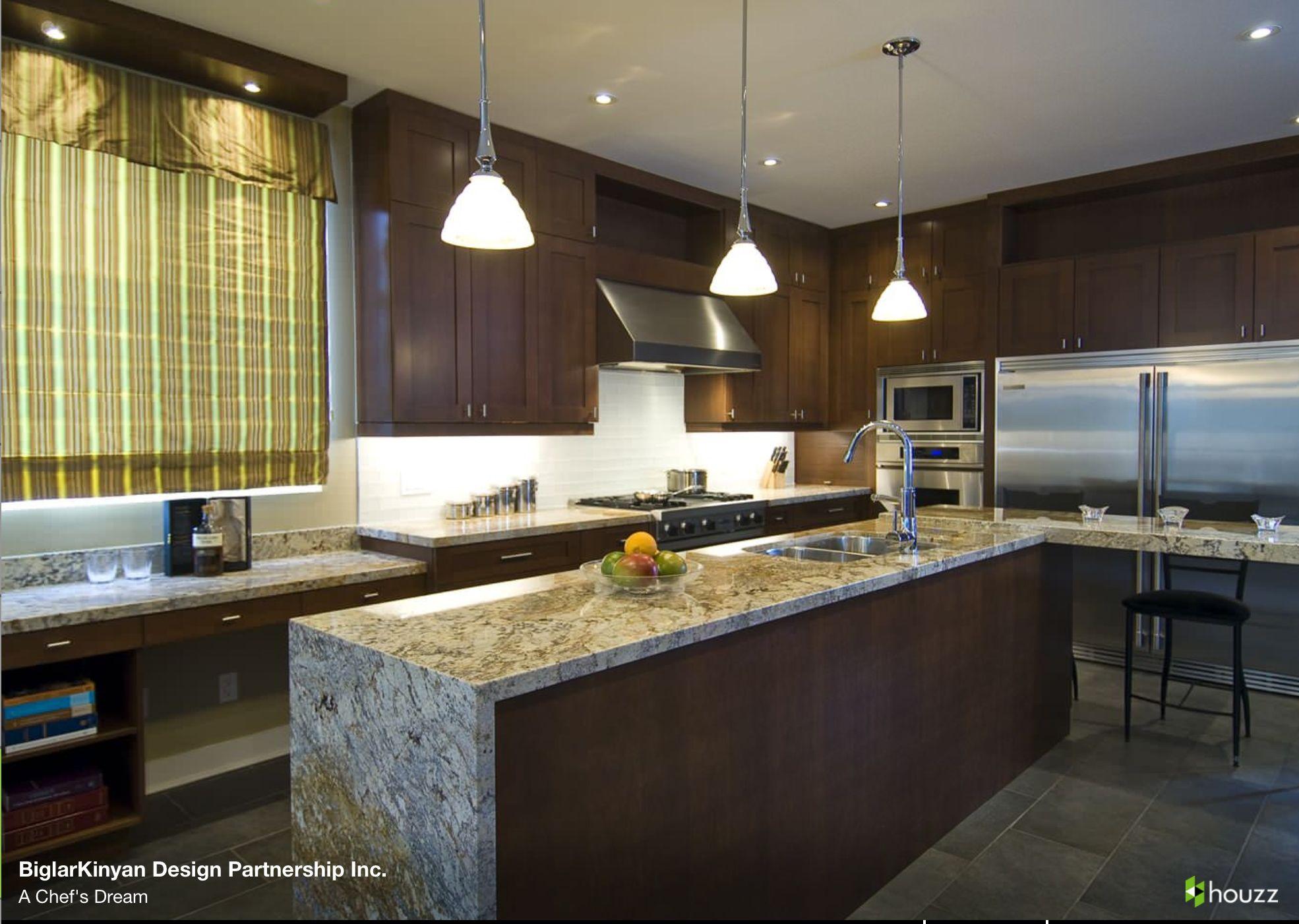 Waterfall granite kitchens pinterest - Encimeras modernas ...