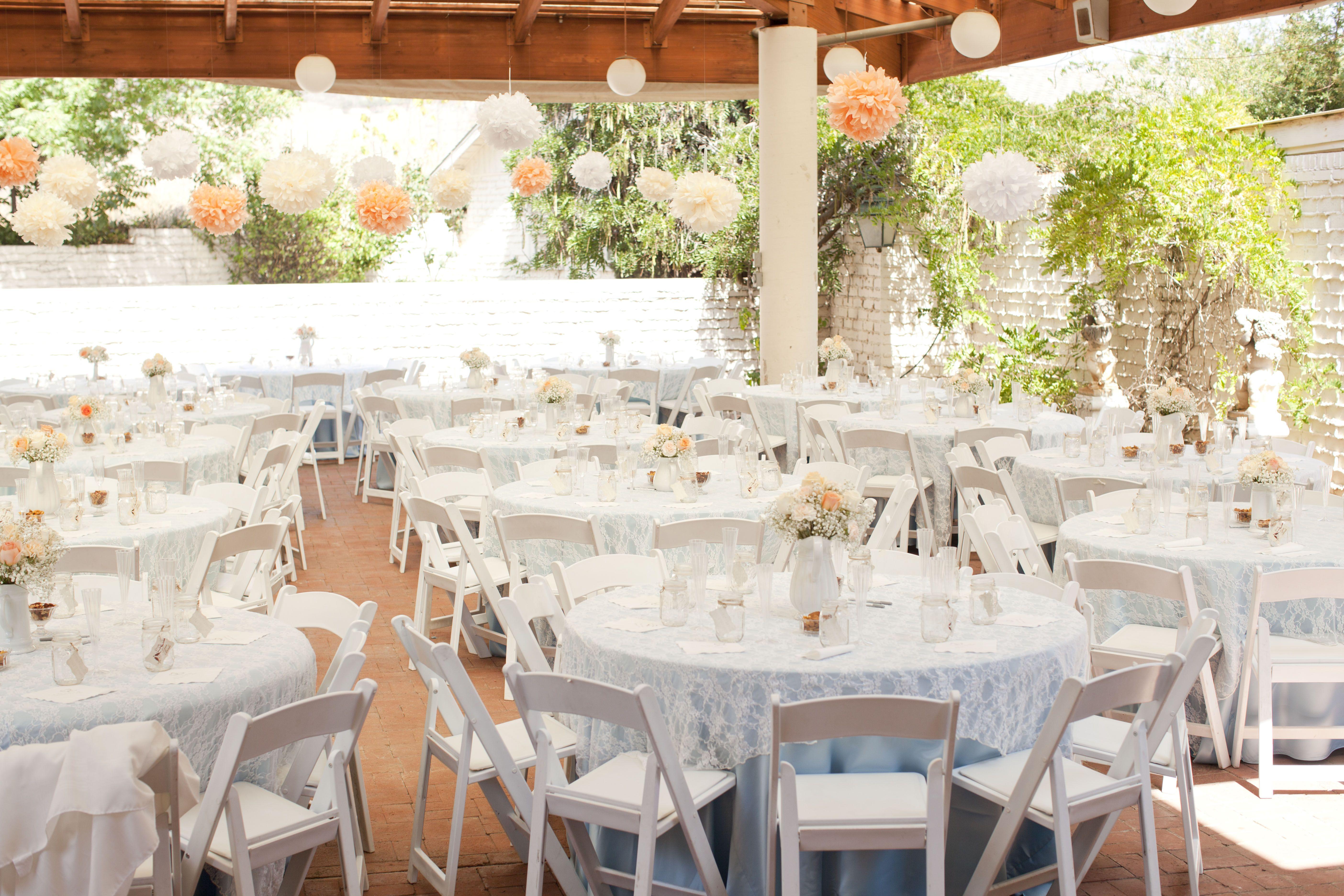 Reception shabby chic wedding wedding ideas pinterest for Shabby chic wedding reception decorations