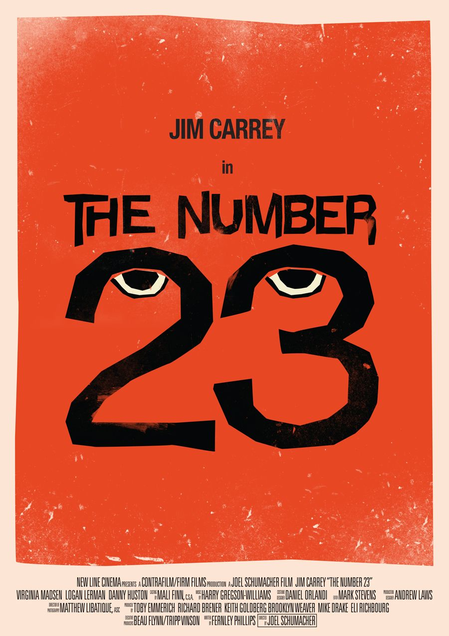 The Number 23 | 23 Skidooo (whatever that means?) | Pinterest