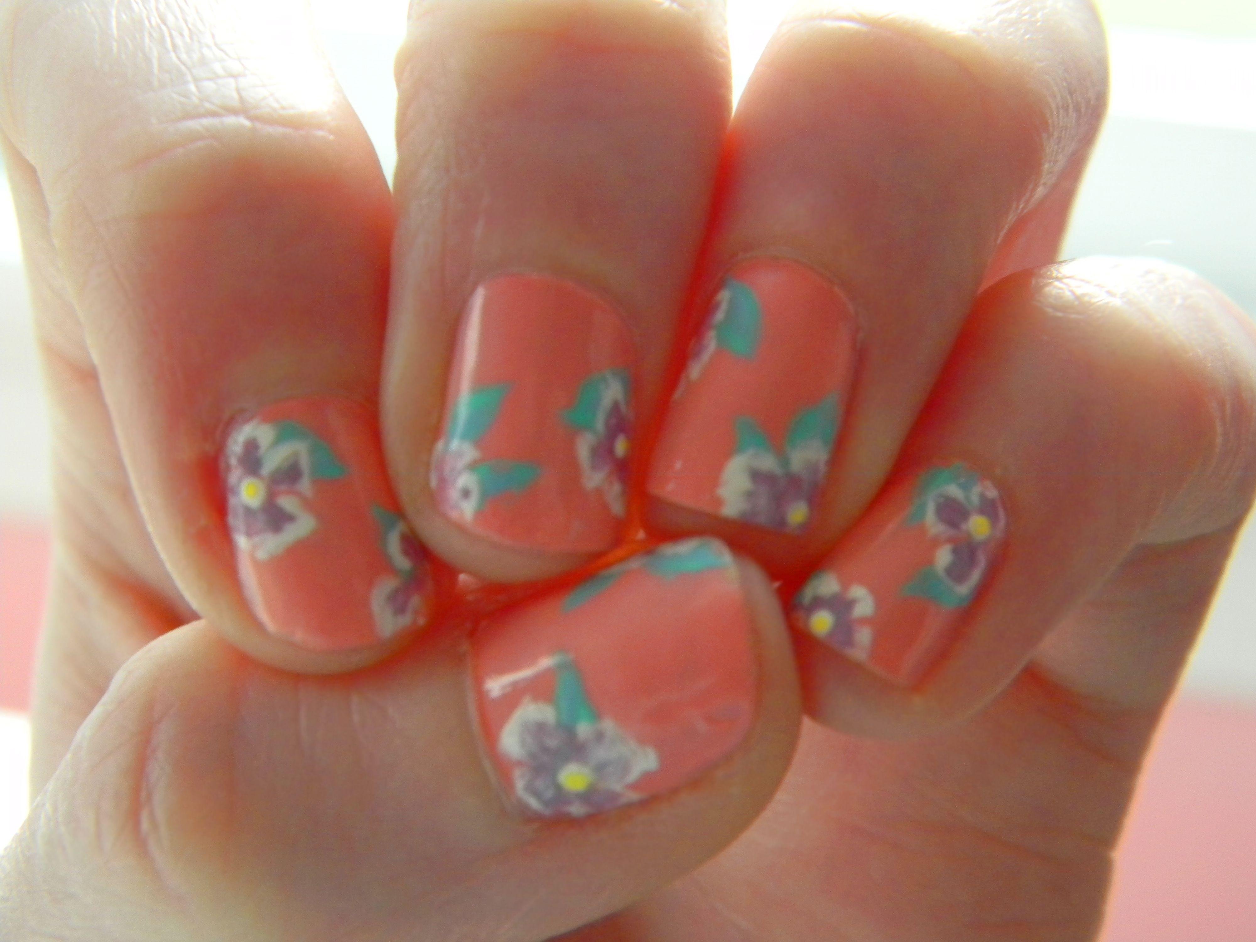 Spring Flower Nails! | Nail Art Inspiration | Pinterest