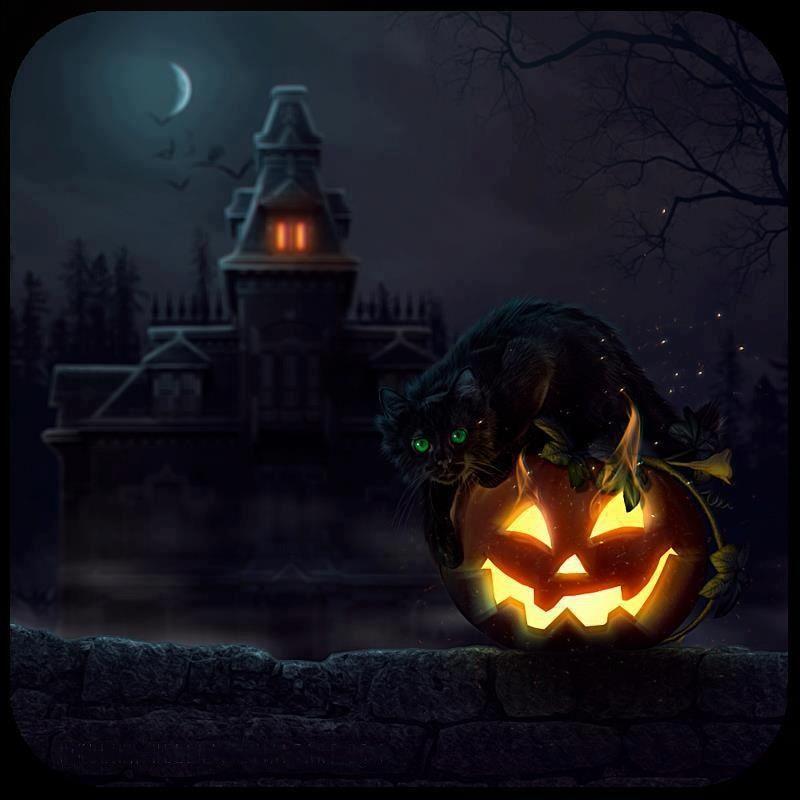 halloween pumpkin house by - photo #19