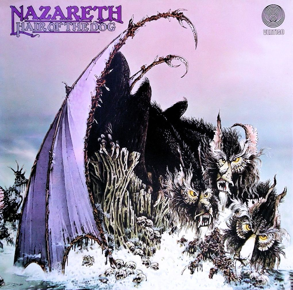 Nazareth Hair of the Dog Album Cover