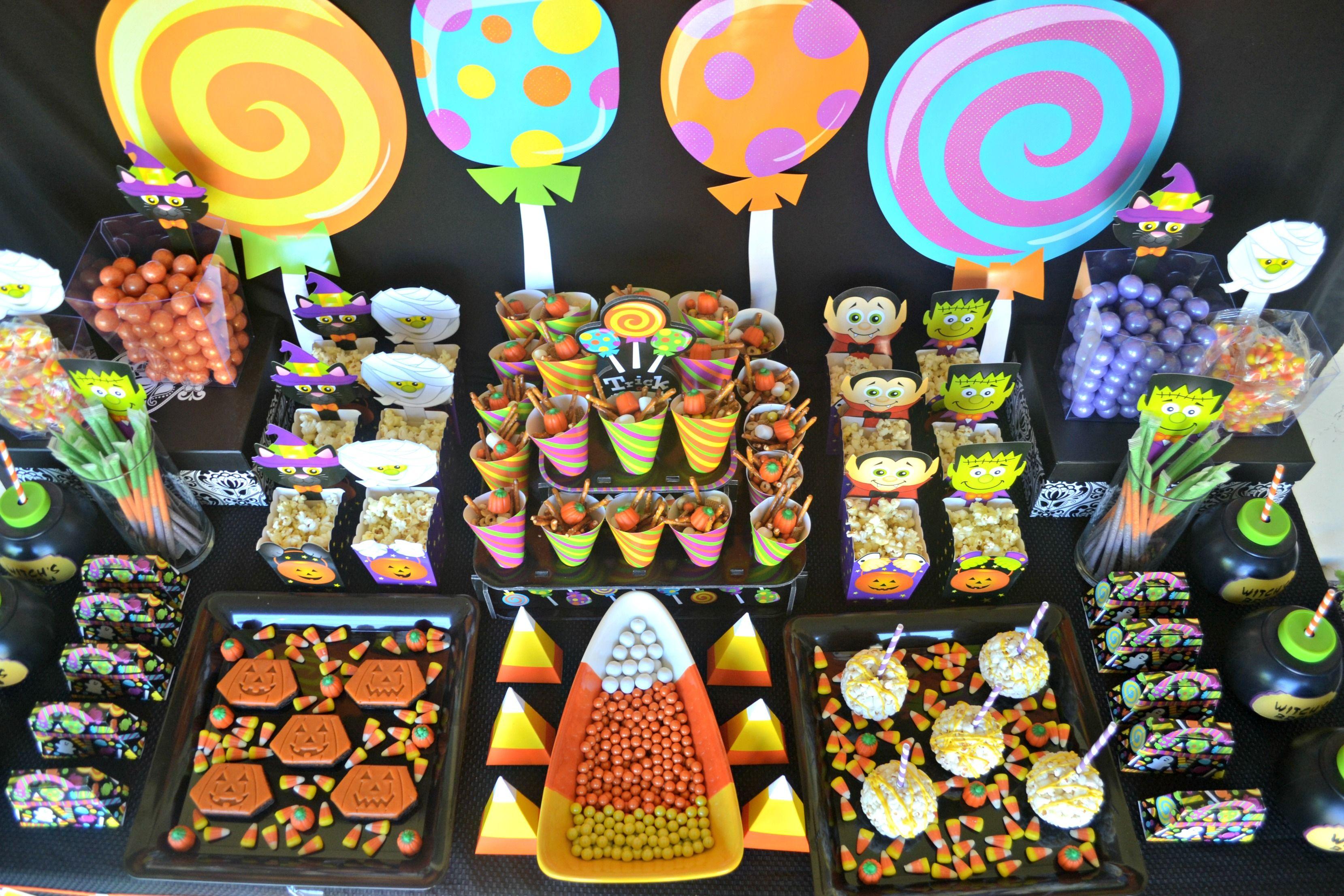Halloween Party Ideas For Kids Halloween Pinterest
