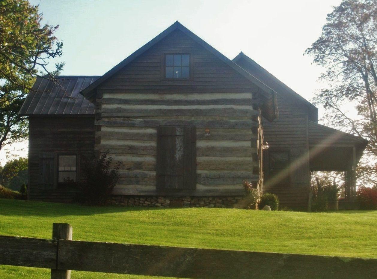 Cabin addition log cabins pinterest for Log home addition