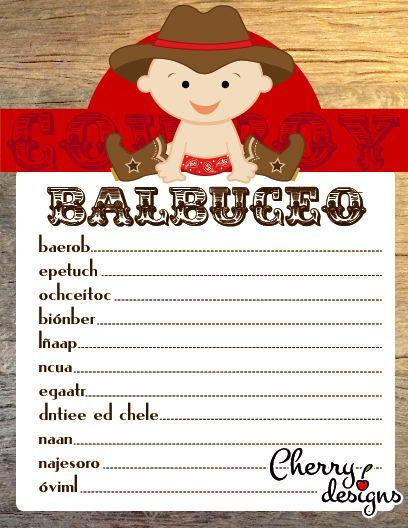 juegos para baby shower babyshower ideas pinterest