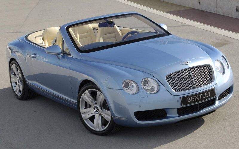 Baby Blue Bentley Continental Gt Cars And Trucks And