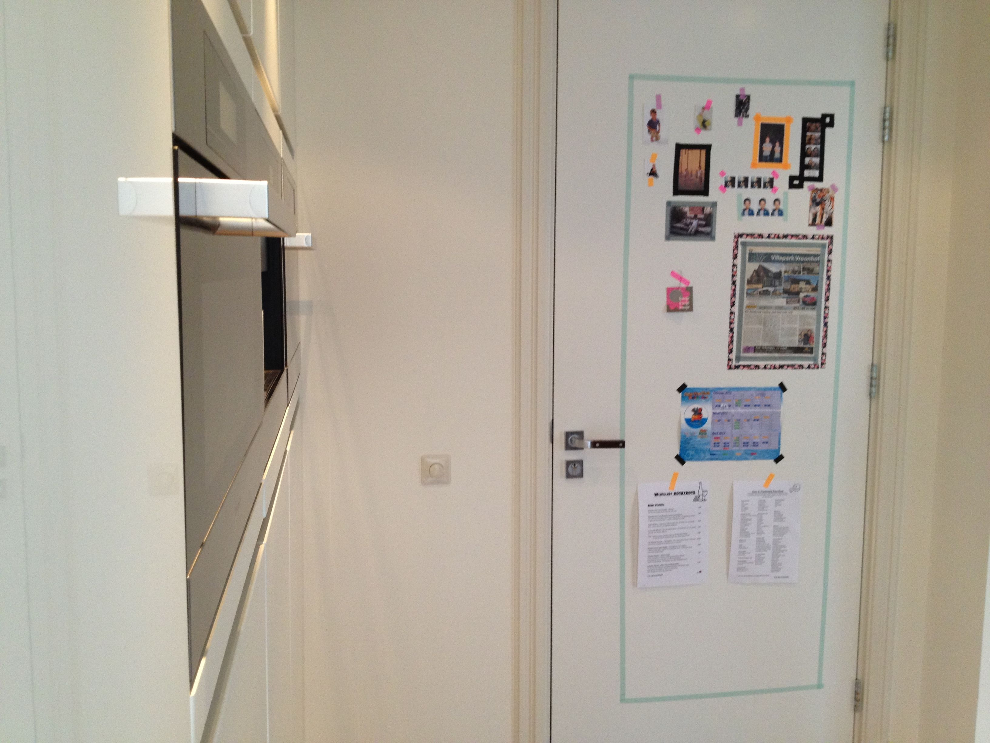 Washi Tape Kitchen Door Diy Pinterest