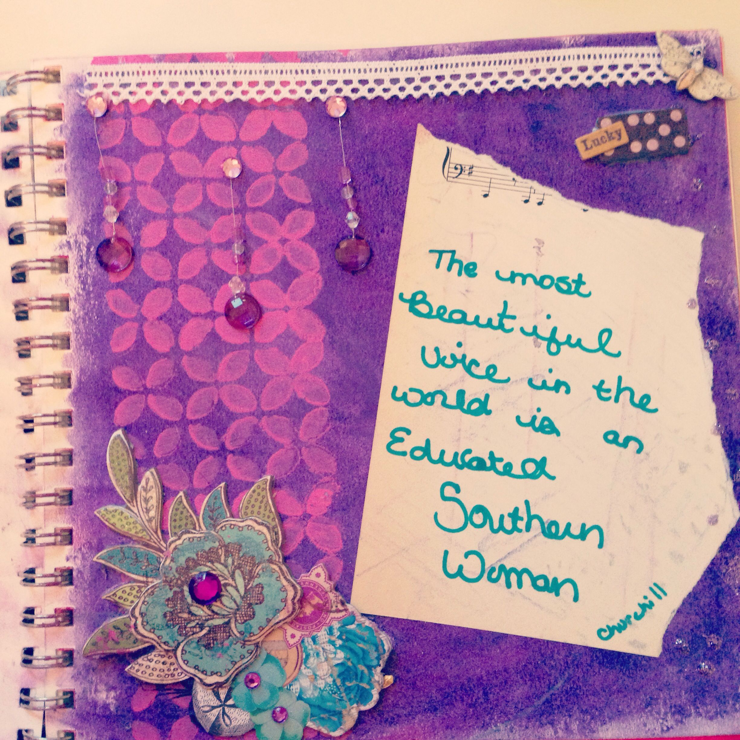 Art journal page | Quo...