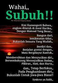 Image Result For Salam Subuh Kutipan Terbaik Sembahyang Motivasi