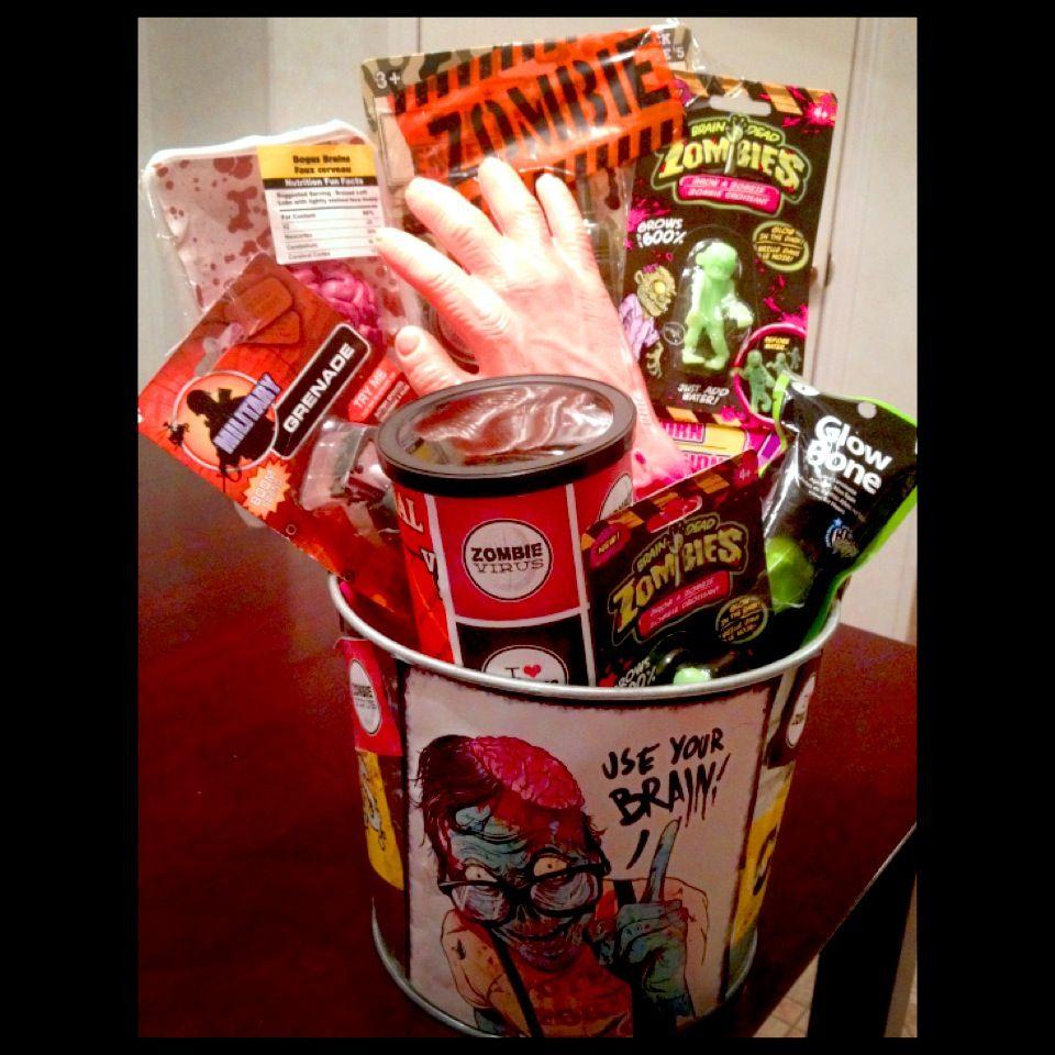 Zombie theme party centerpiece event ideas pinterest