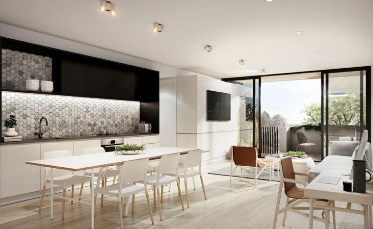 Cucina E Sala Da Pranzo Open Space. Cheap Arredare Salotto E Sala Da ...