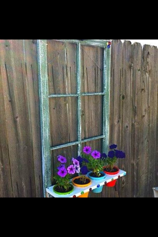 Old window idea crafts i want to attempt pinterest for Old window craft ideas