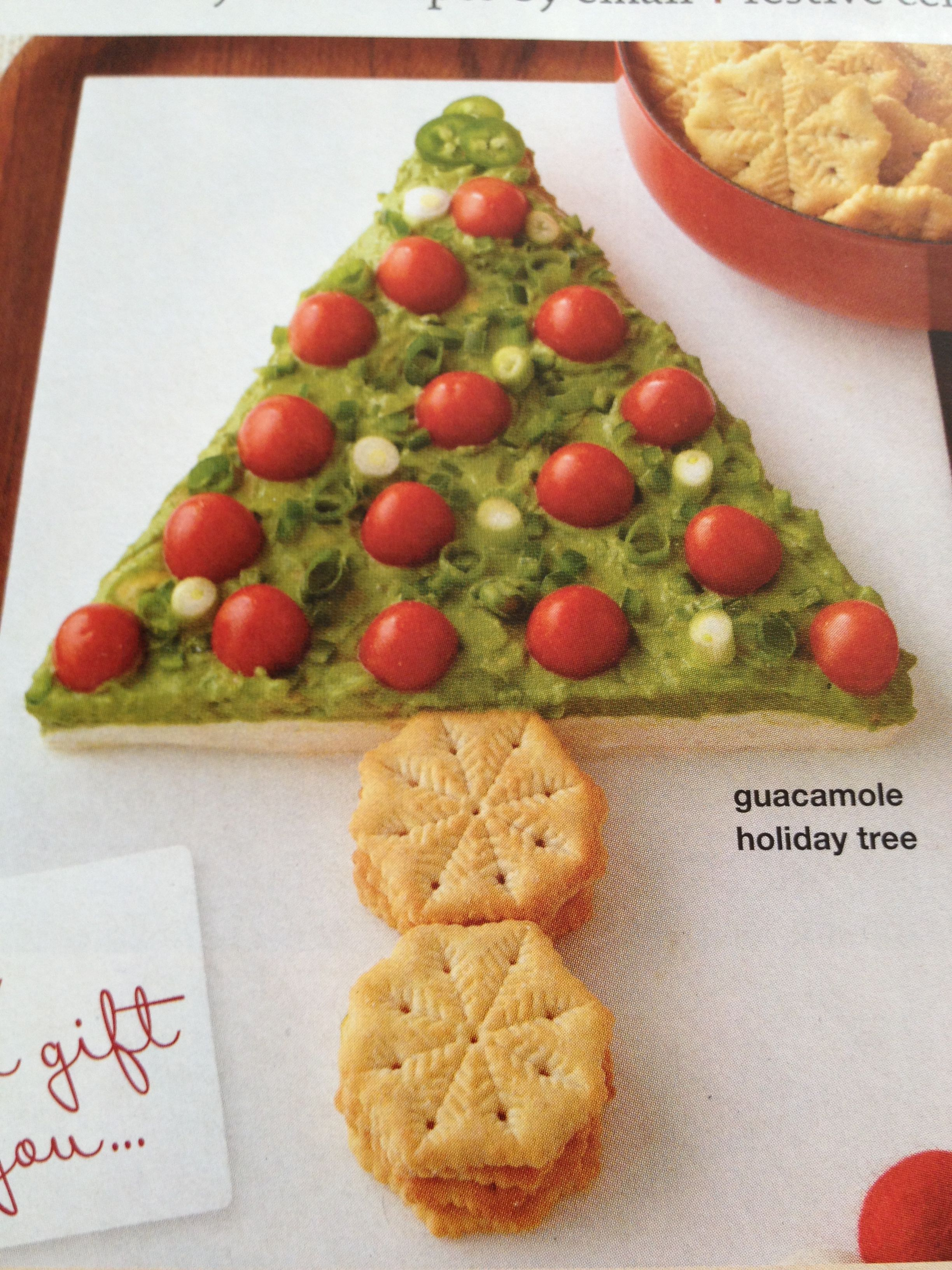Guacamole holiday tree | FOOD_party | Pinterest
