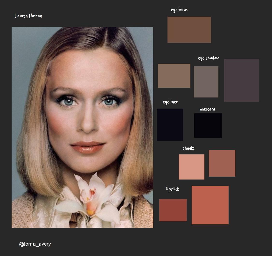 Lauren Hutton Smakeup Matchy Makeup Palette