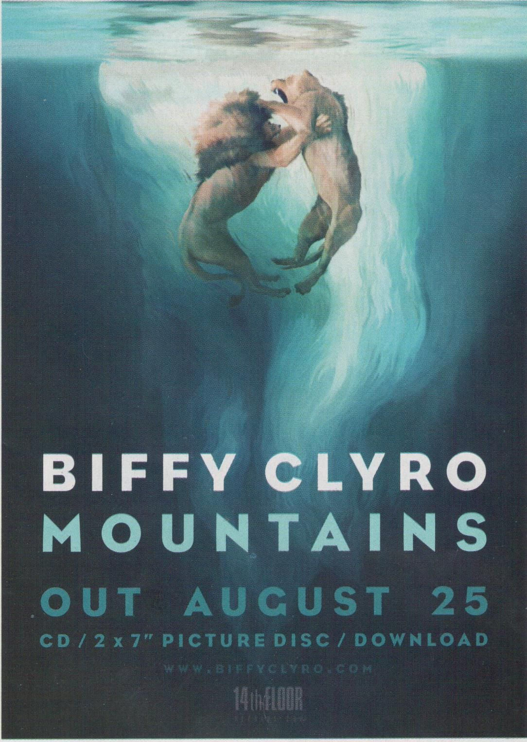 BIFFY CLYRO - MOUNTAINS LYRICS - SONGLYRICS.com