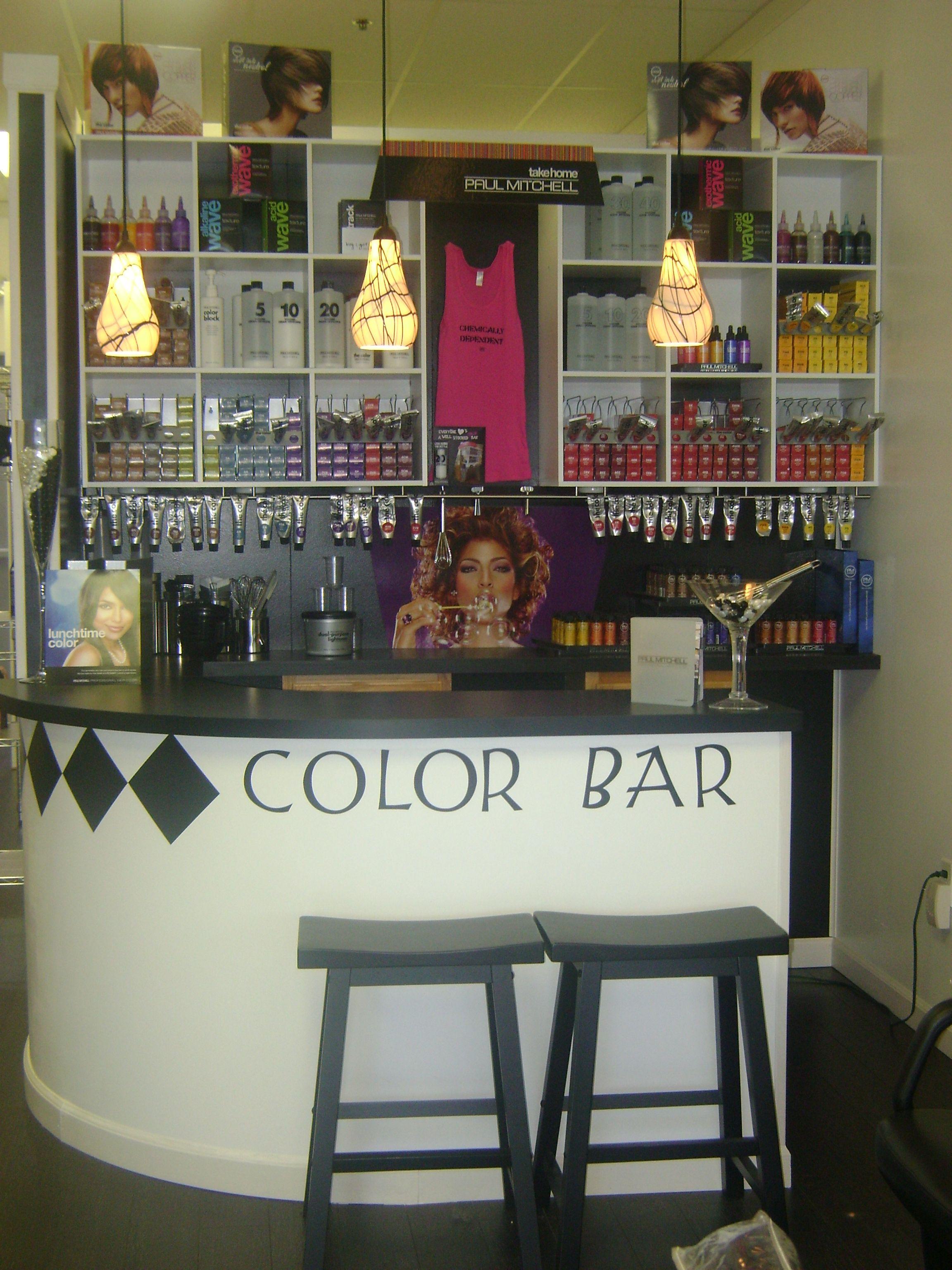 My Color Bar. 2008 Hair Salon Decor Pinterest