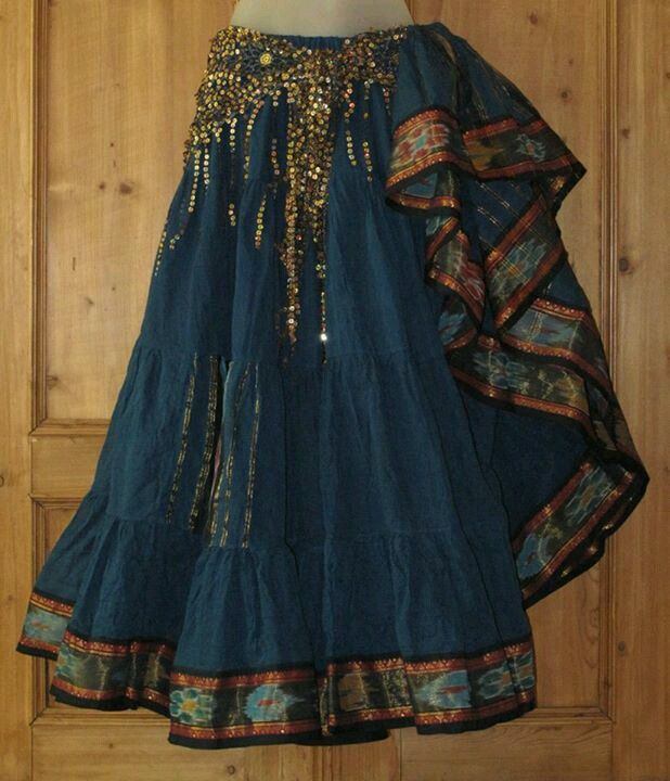 Gypsy skirt - costume potential | Gypsy Roses | Pinterest