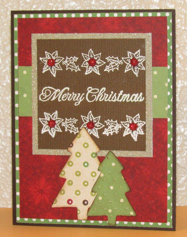 Christmas card my handmade cards pinterest for Handmade christmas cards pinterest