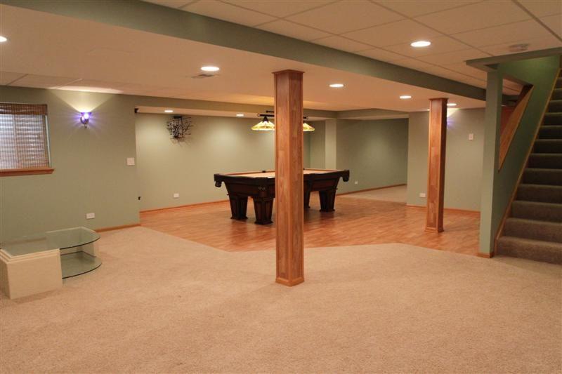 Delightful Basement Floor Ideas Simple Finished Basement Floor With Basement
