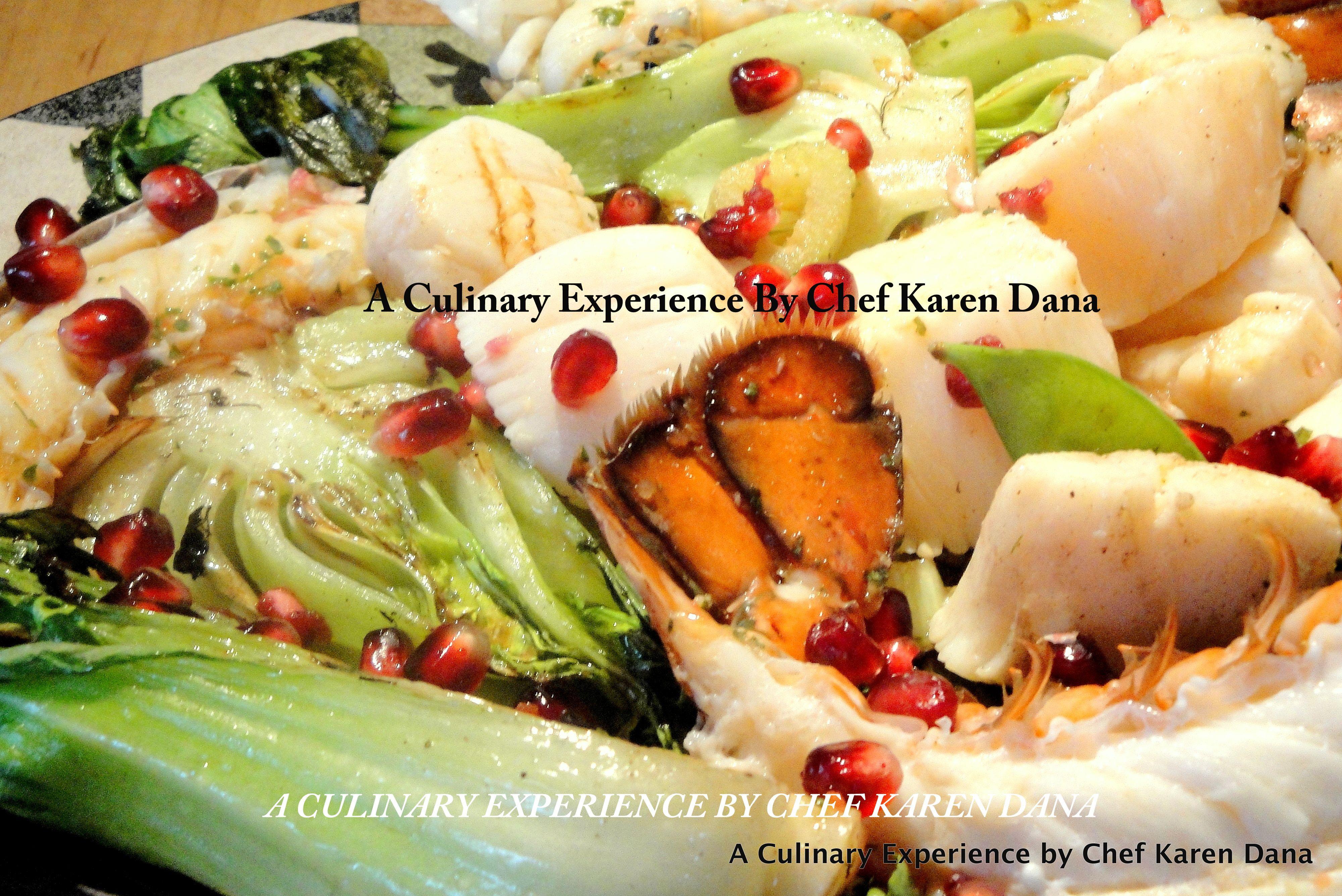 fresh seafood salad | Chef Karen Dana | Pinterest