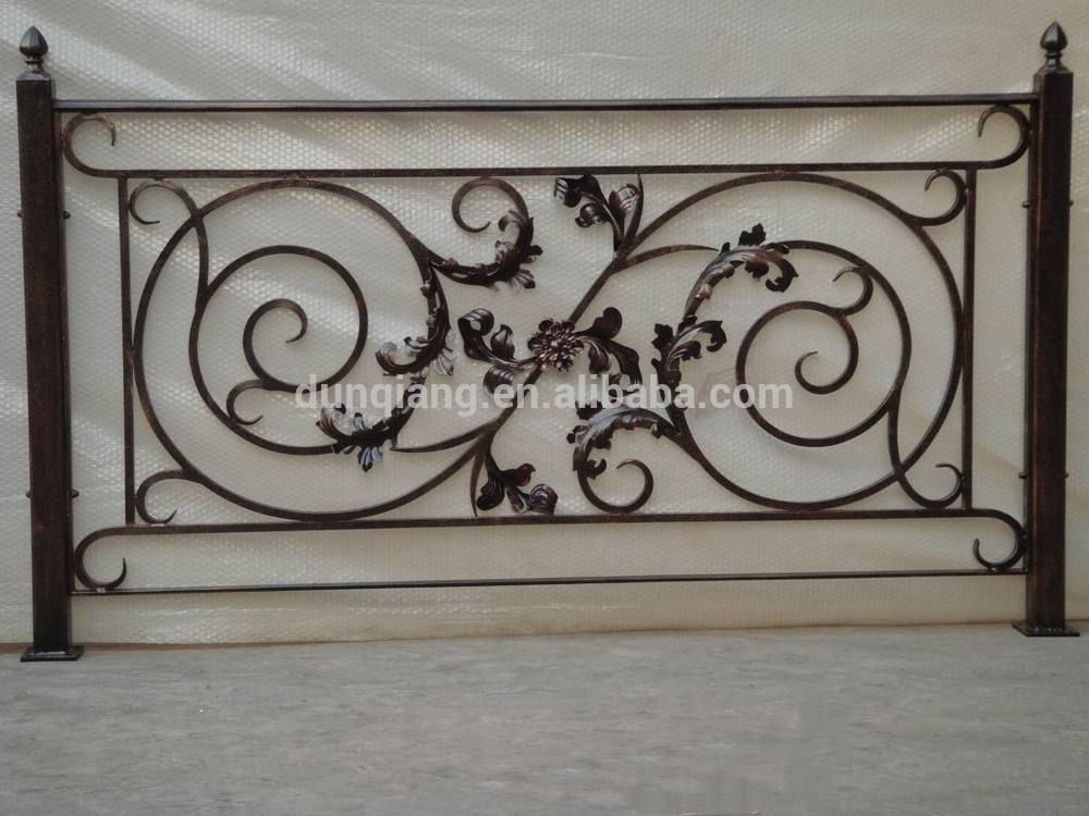 Modern garden fence and gates steel fence gates grill design powder coated steel fence and gate