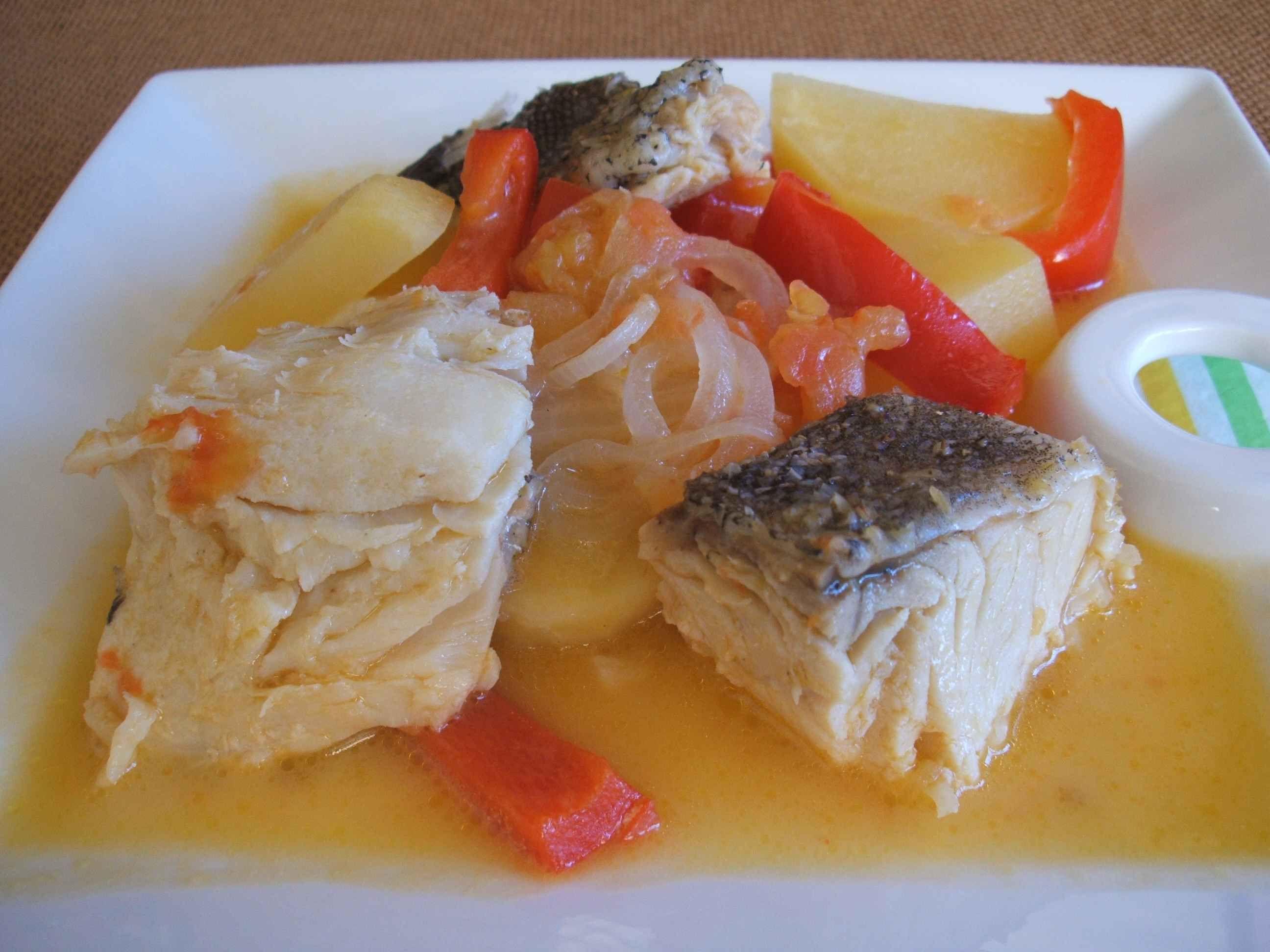 Cod, Potato And Spring Onion Stew Recipe — Dishmaps
