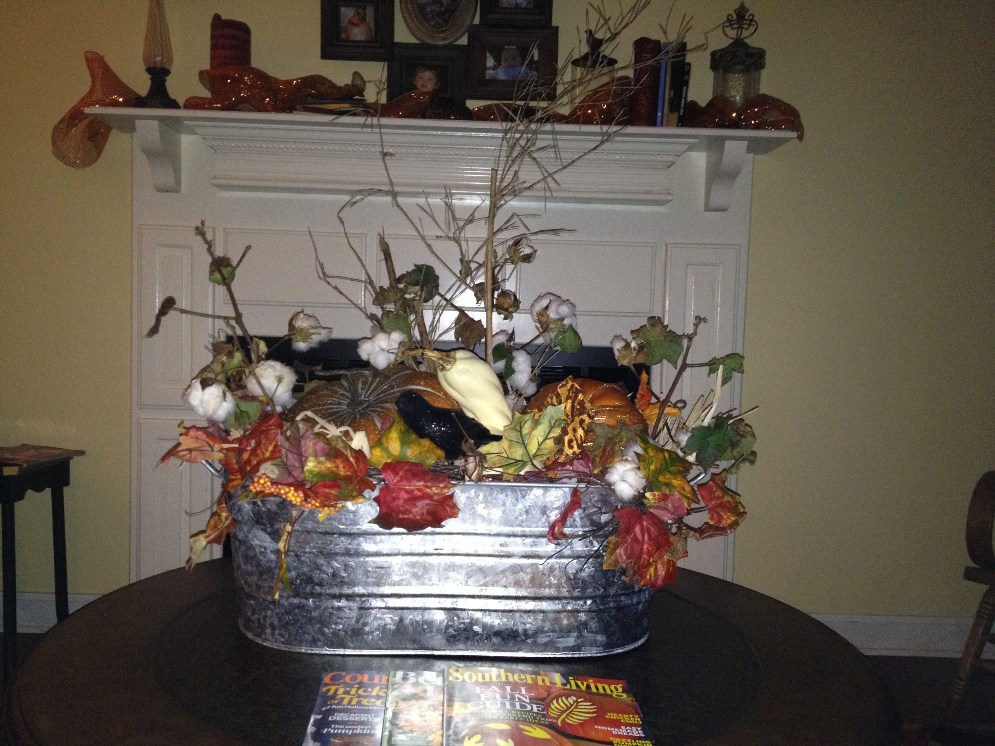 Galvanized Tub Decor For The Home Crafts Pinterest
