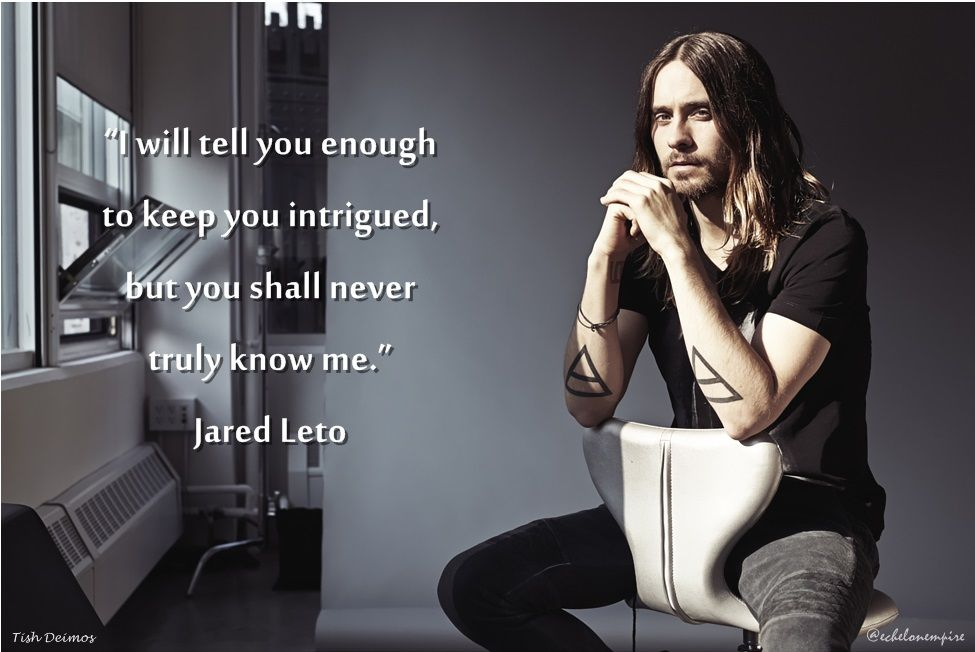 jared leto quotes images