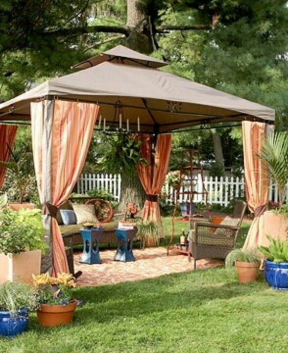 Backyard Cabana Ideas : Cabana Style Outdoor  anj ideas  Pinterest
