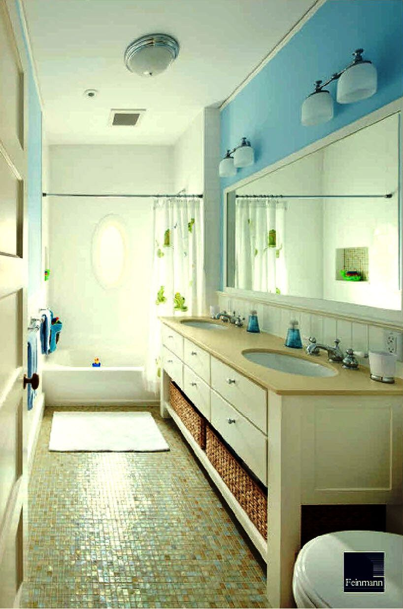 Jack and jill bathroom for the home pinterest for Jack and jill house