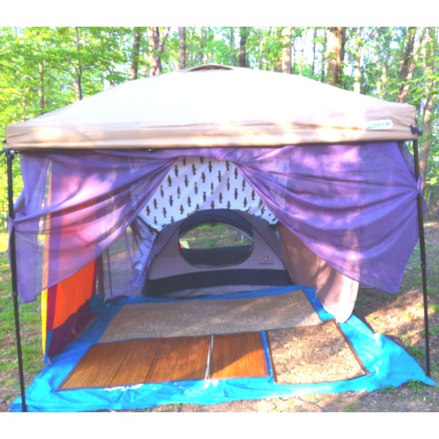 set up with tent and canopy. | Electric Forest/Bonaroo Ideas | Pinter ...