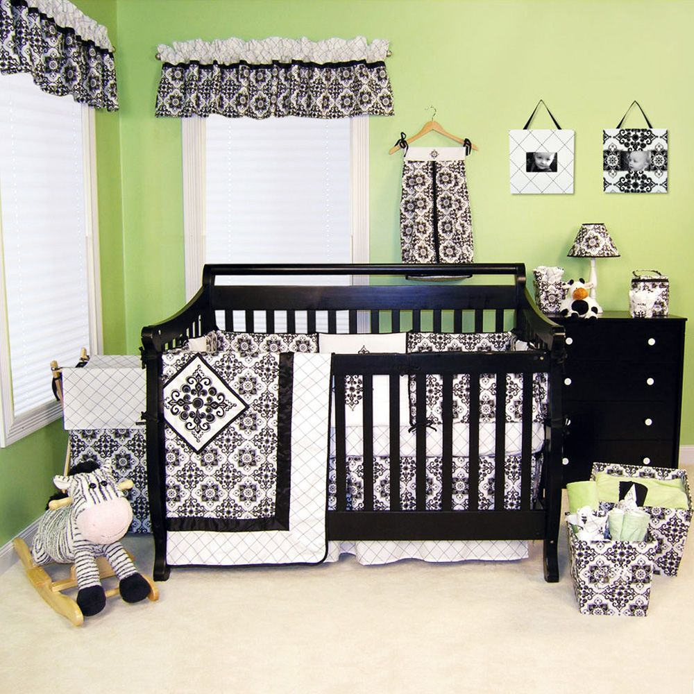 Black And White Nursery Baby Ideas Pinterest