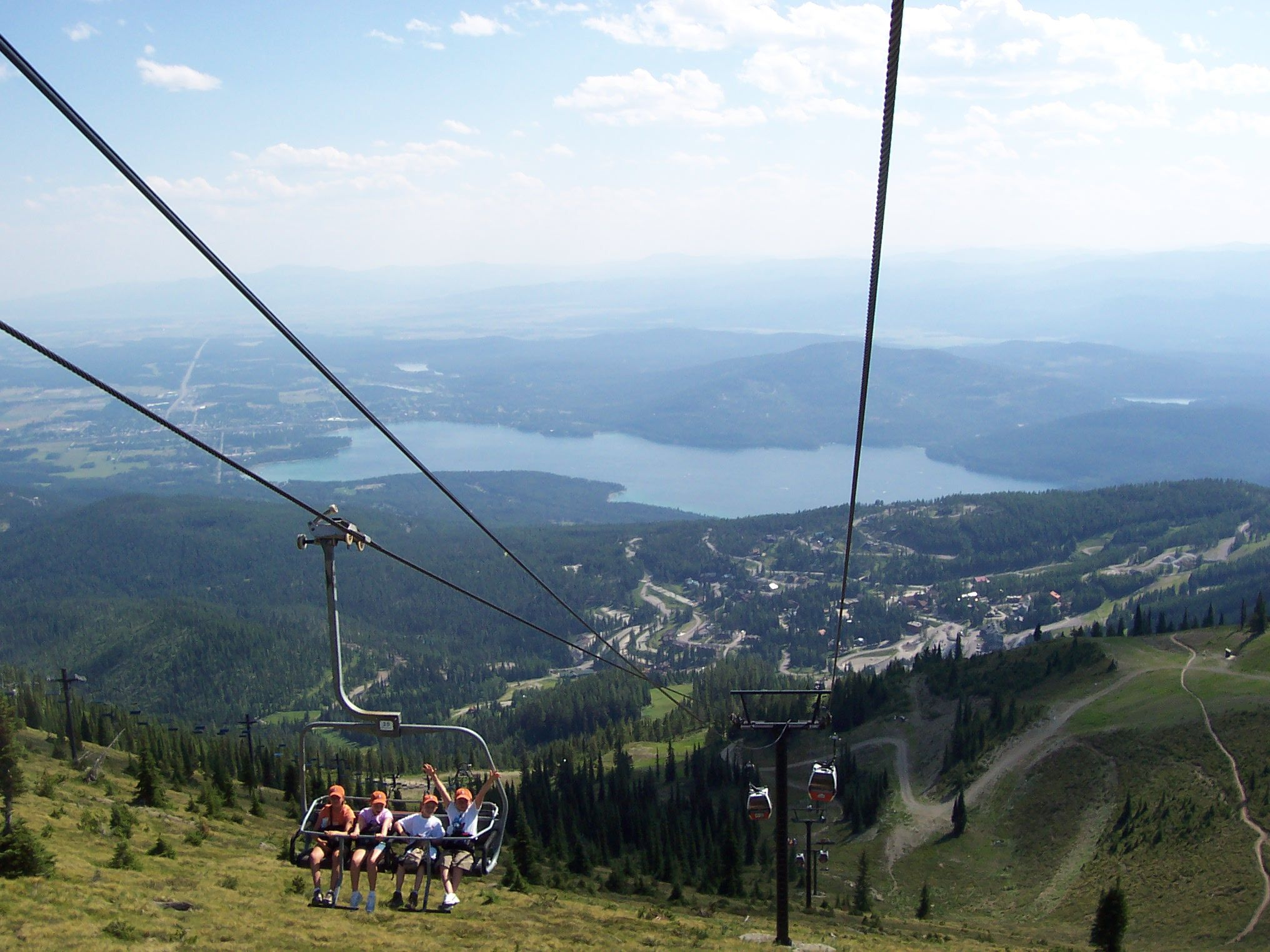 View from big mountain whitefish mt cool places pinterest for White fish montana