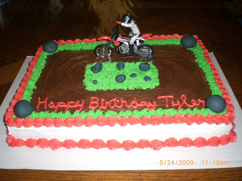 dirt bike cake - photo #46