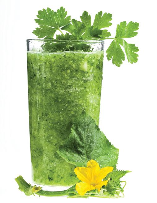 Jugoterapia - batido verde tropical (jugo verde)