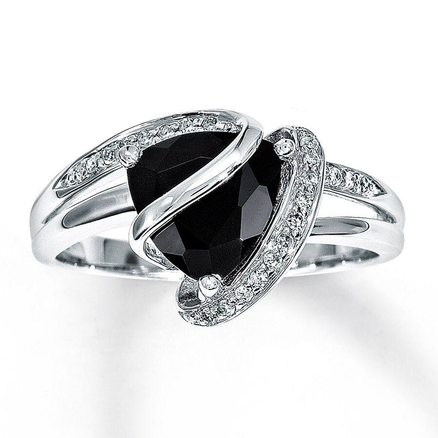 black onyx engagement ring fancy accessories pinterest With black onyx wedding ring
