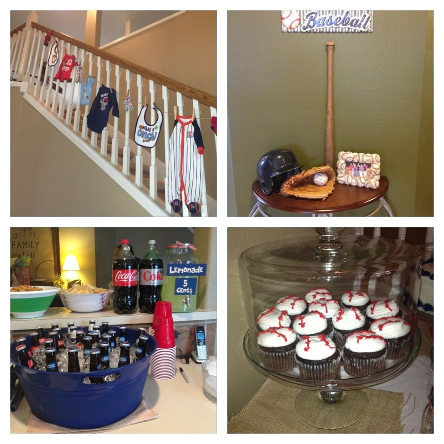 classic baseball theme baby shower baby belby fun pinterest