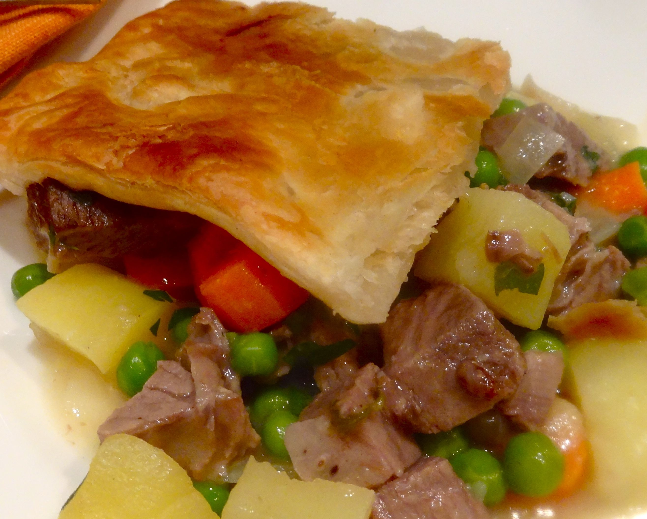 Beef Pot Pie | Meat Entrees | Pinterest