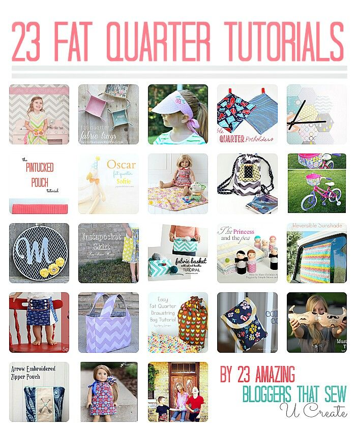 fat quarter sewing projects Fat quarter bundles and packs from leading fabric manufacturers such as makower, rjr, free spirit, dashwood studio, hoffman etc the fabrics in our fat quarter gift packs are smartly presented on a card base, tied with a cotton patch ribbon and enclosed in a clear wrapper for protection.