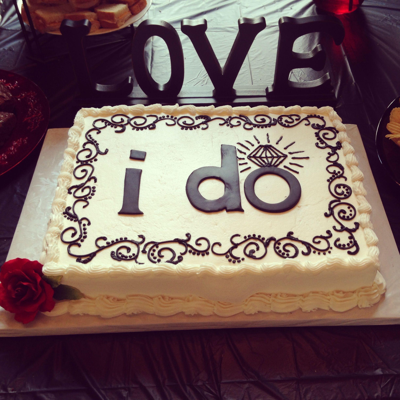 Cake Designs For A Bridal Shower : My wedding shower cake! a cinderella story
