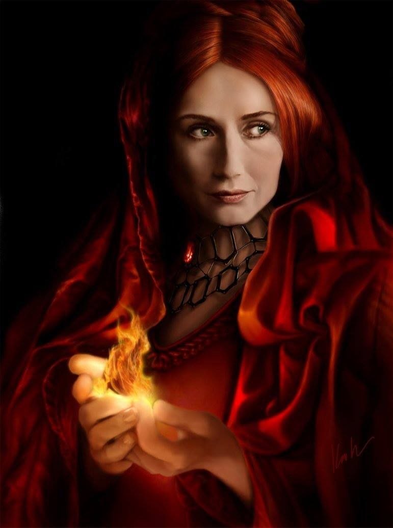 game of thrones red woman leeches
