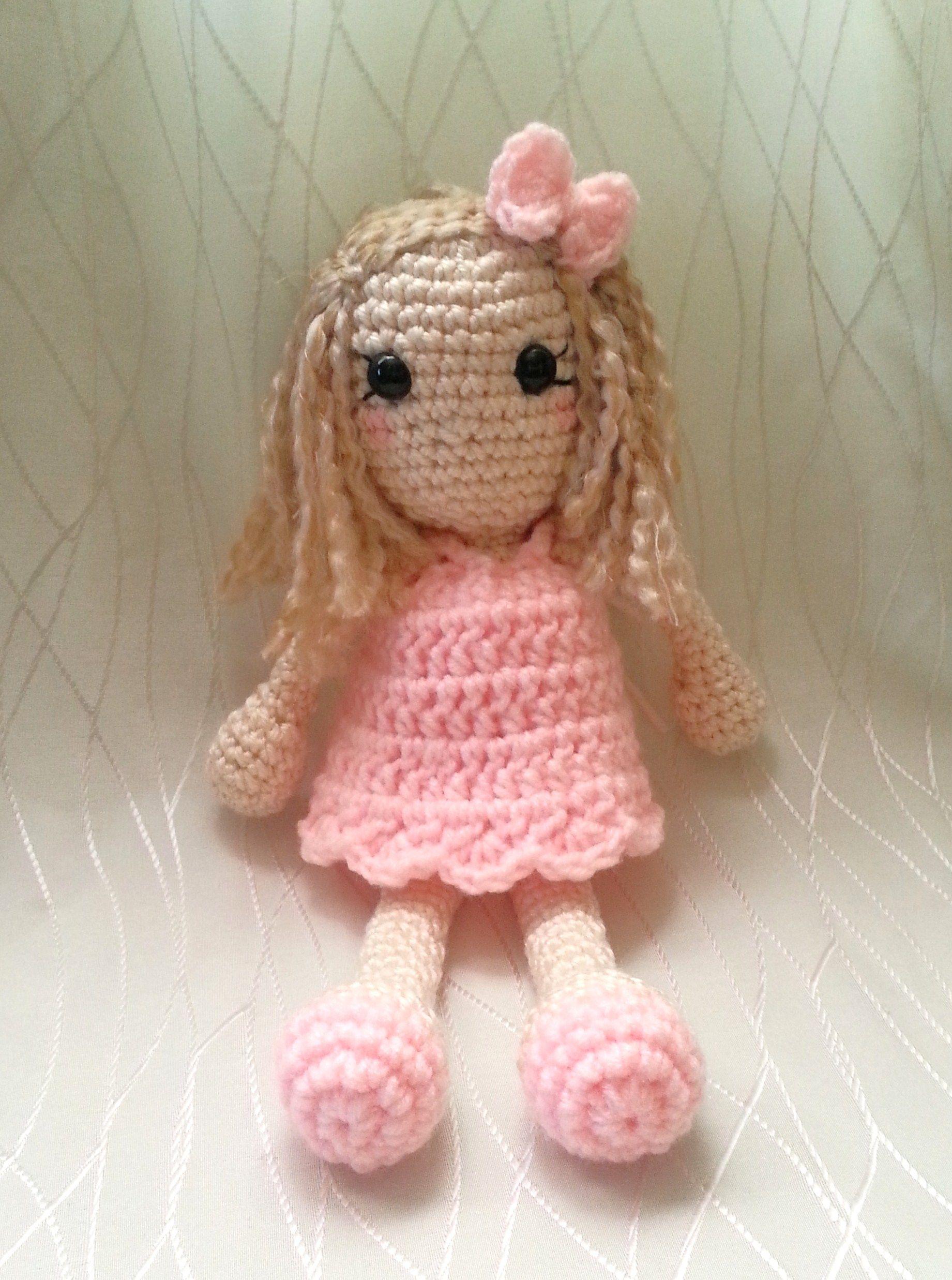 Amigurumi Dress Up Dolls : dress up amigurumi doll coocoo for crocheting Pinterest