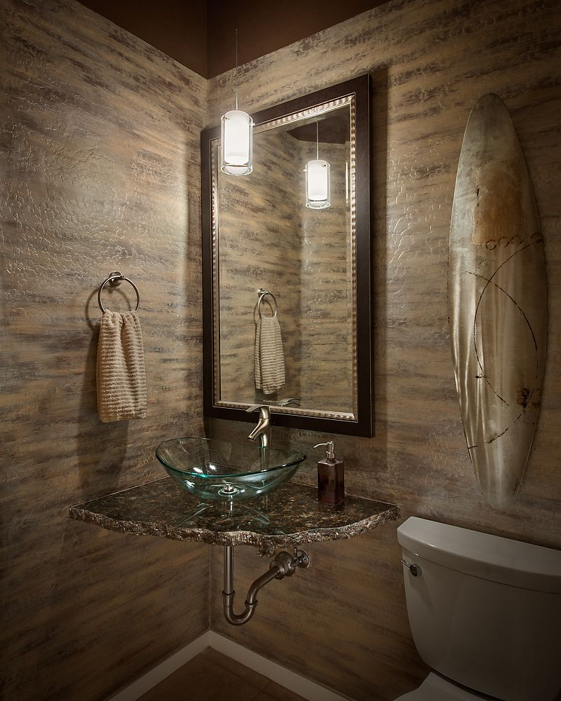 Powder Room Remodel Haus Pinterest