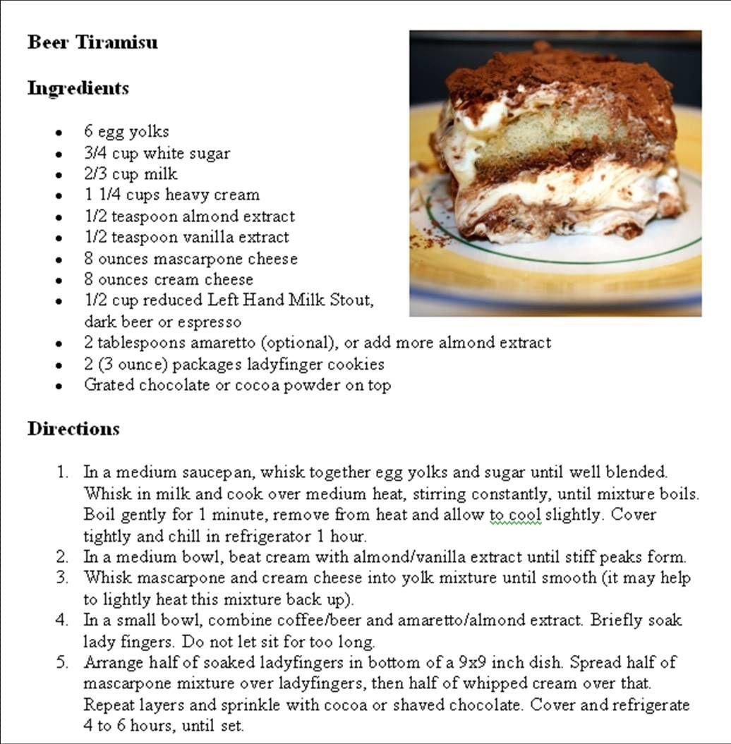 Beeramisu | Desserts | Pinterest