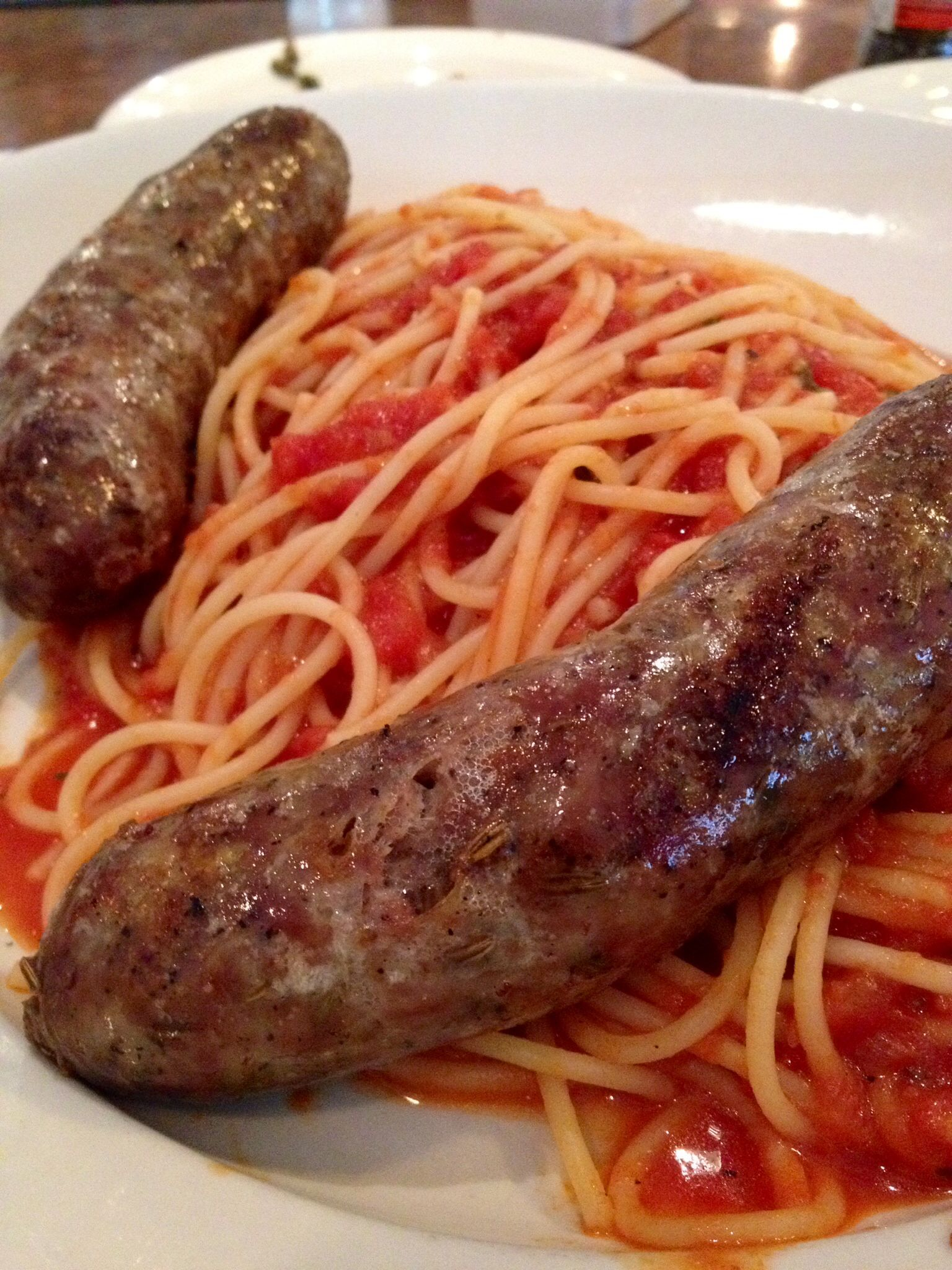 Italian Sausage & Spaghetti | Recipes | Pinterest