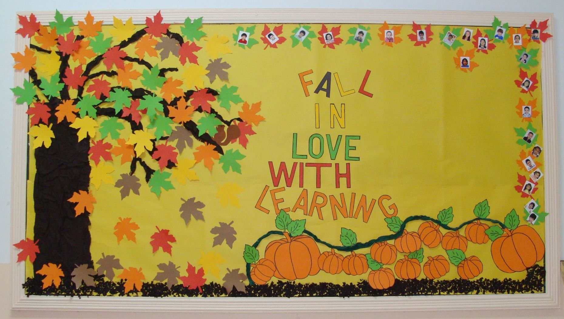 67 best Bulletin Boards -Fall / Autumn images on Pinterest November Fall pictures for bulletin board