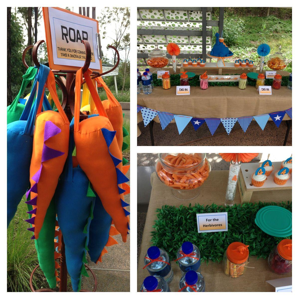 Dinosaur Party Decor ideas  par-tay!!!  Pinterest