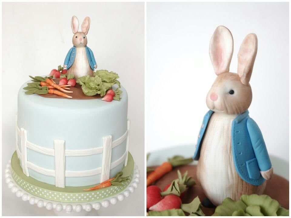 Peter rabbit, Peter rabbit cake and Rabbit on Pinterest