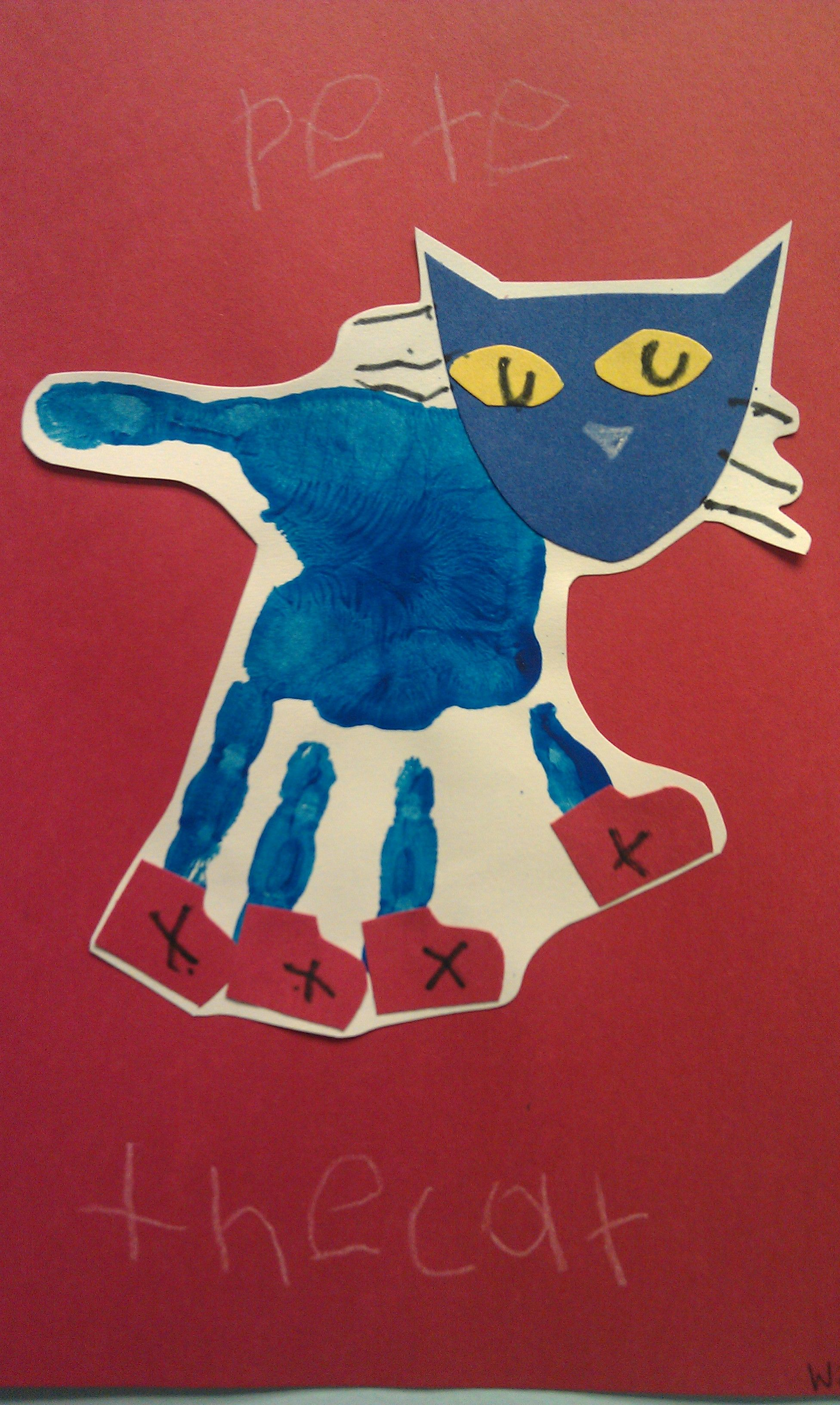 Pete The Cat First Day Of School Activites