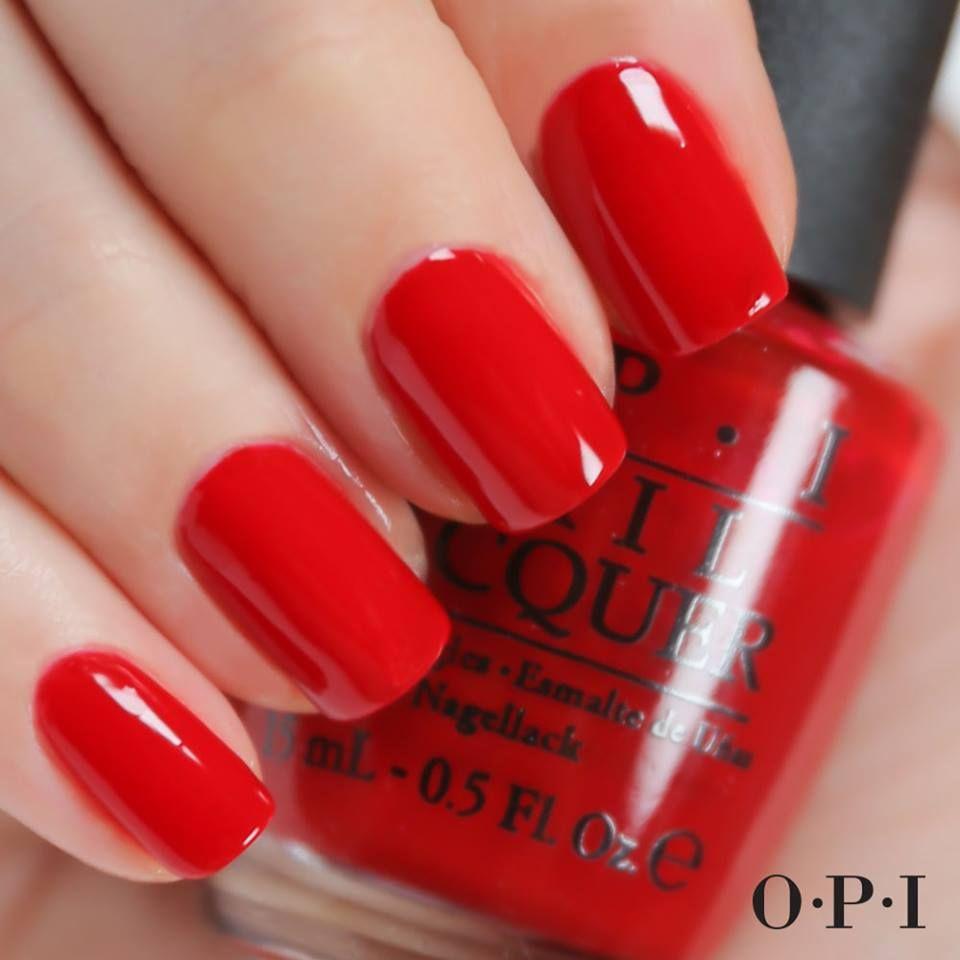 valentine red nail polish